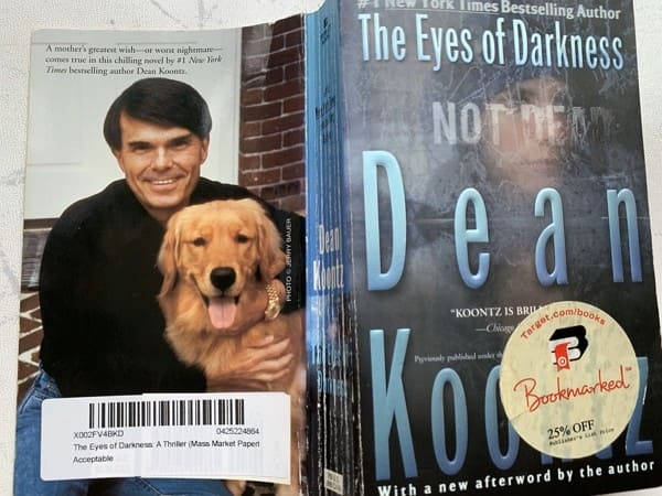 Koontz The Eyes of Darkness