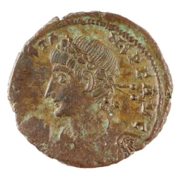 Moneta romana in bronzo