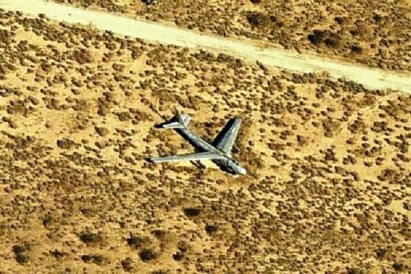 aereo nel triangolo del Nevada 2