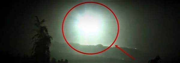 UFO luce