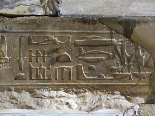 prove elicotteri di Abydos