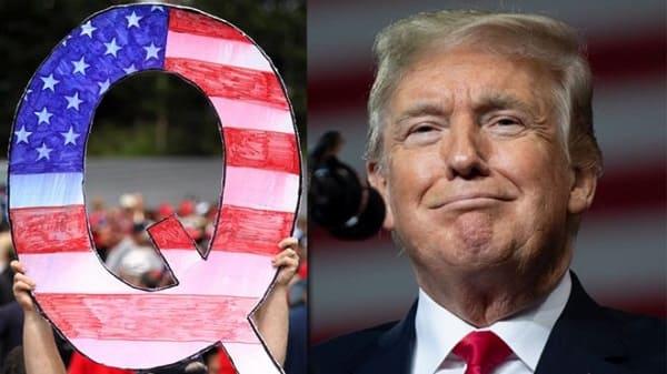 QAnon Donald Trump