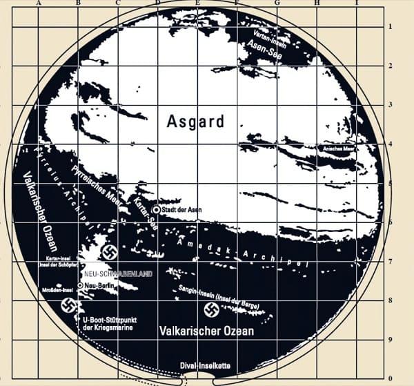 mappa segreta Terra cava 2