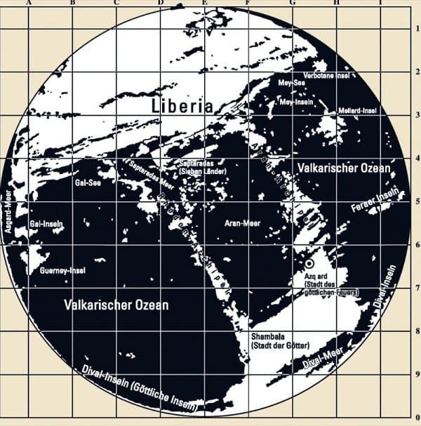 mappa segreta Terra cava 3