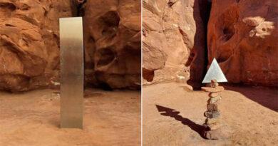 È scomparso il misterioso monolite metallico trovato nello Utah