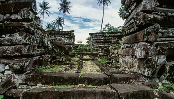 The ruins of Nan Madol