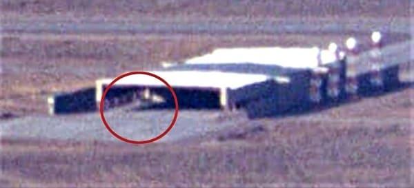 UFO triangolare area 51