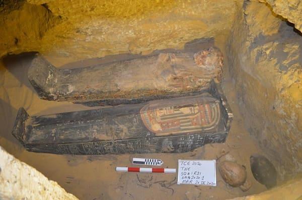nuova scoperta a Saqqara nel 2021