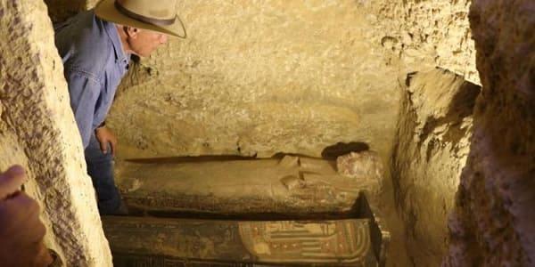 nuova scoperta in Egitto nel 2021