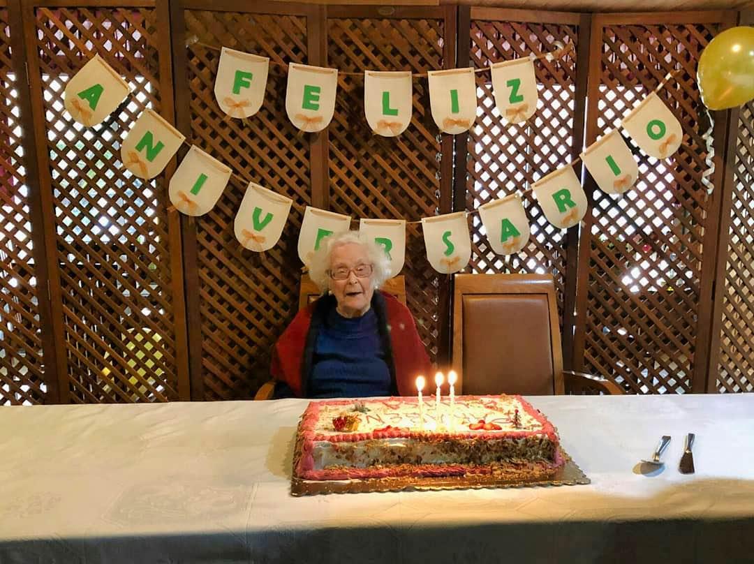 O 104º Aniversário da D. Luísa Machado