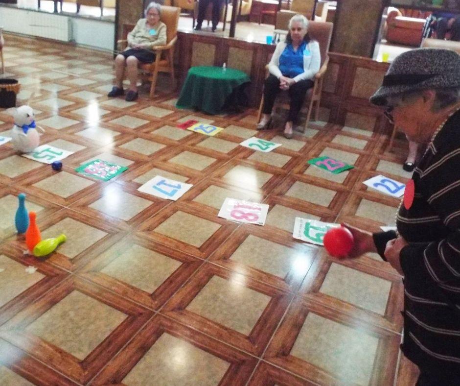 Uma tarde bem animada de jogos psicomotores