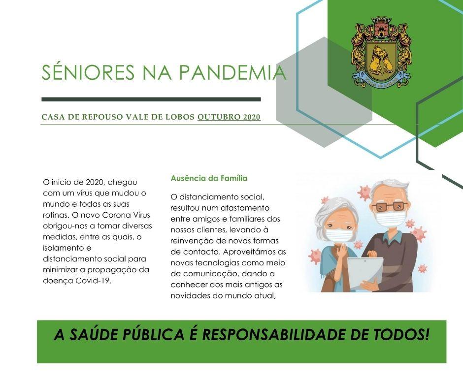 Séniores na pandemia
