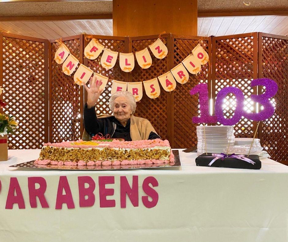 103 anos da D. Isabel Mendes