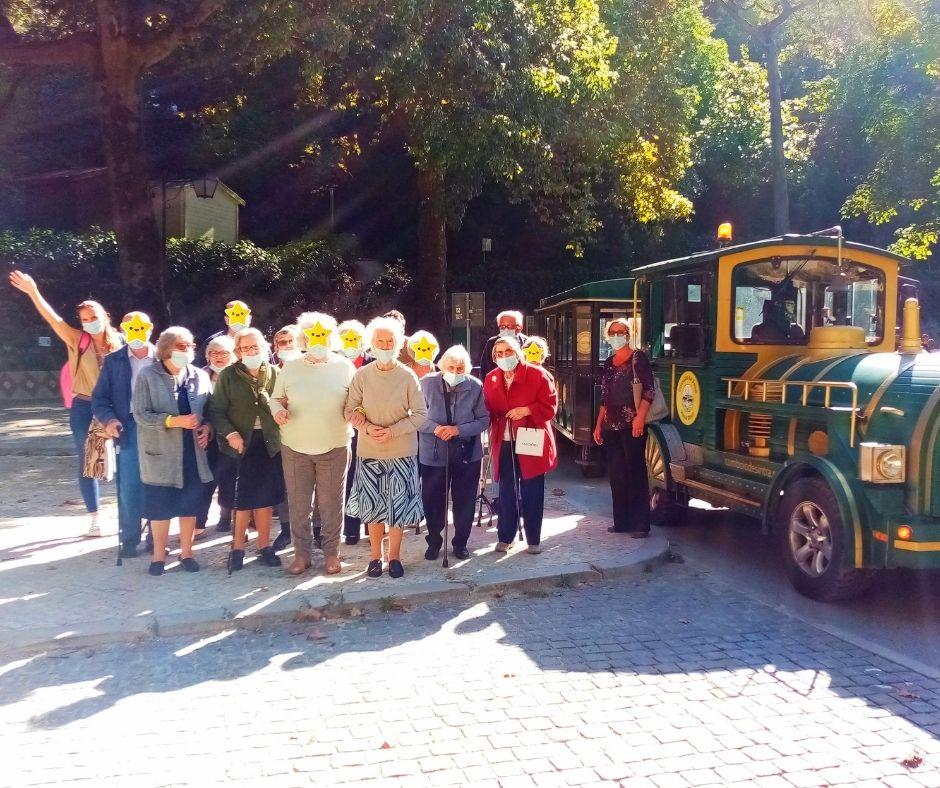 Passeio no Comboio Turístico de Sintra