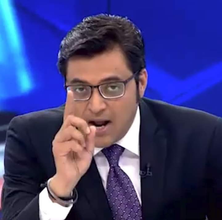 Arnab Goswami's questions were not wrong