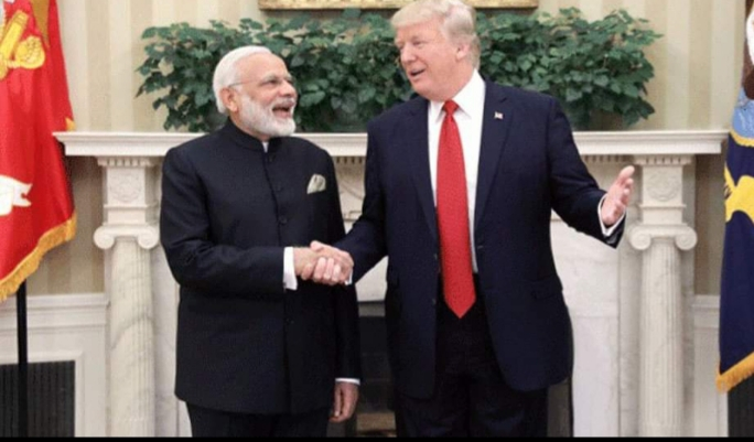 Soon after getting the medicine, instead of the trump, Modi said that Modi is a great and very good leader