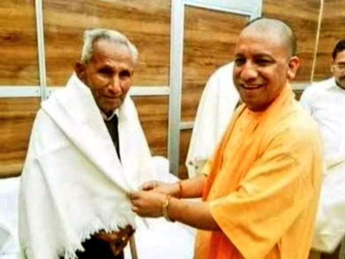 Yogi Adityanath did not attend father's funeral