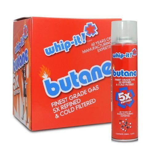 Whip It Butane 300ml 12 Tins