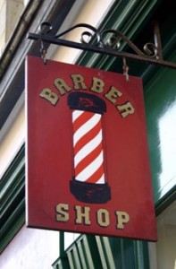 Wayne Anothony's Barbers pole