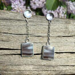 botswana drop earrings Chilli Designs