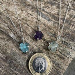 Chilli Designs nugget necklaces