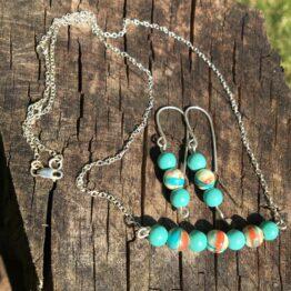 Chilli Designs bead necklace