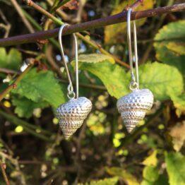 Chilli Designs periwinkle drop earrings