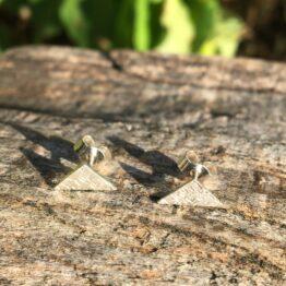 Chilli Designs triangle studs