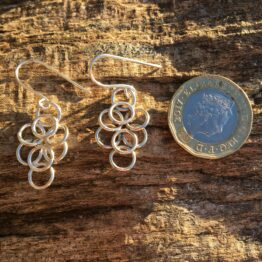 Chilli Designs chainmaille earrings