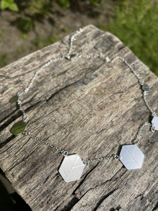 Chilli Designs short hexagon necklace