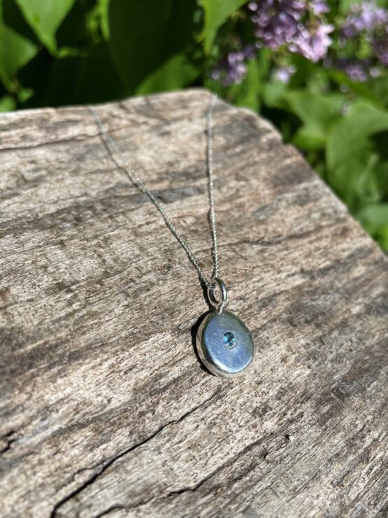 Chilli Designs aquamarine pebble