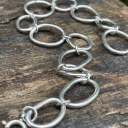 Chilli Designs oval chain bracelet