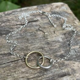 Chilli Designs gold silver rings necklace