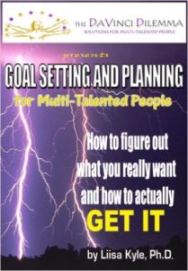 Book Goal Setting and Planning for Multi-Talented People - Liisa Kyle
