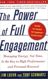 """Cover of the book """"The Power Of Full Engagement"""" by Jim Loehr & Tony Schwartz"""