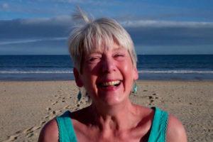 Caroline at the seaside
