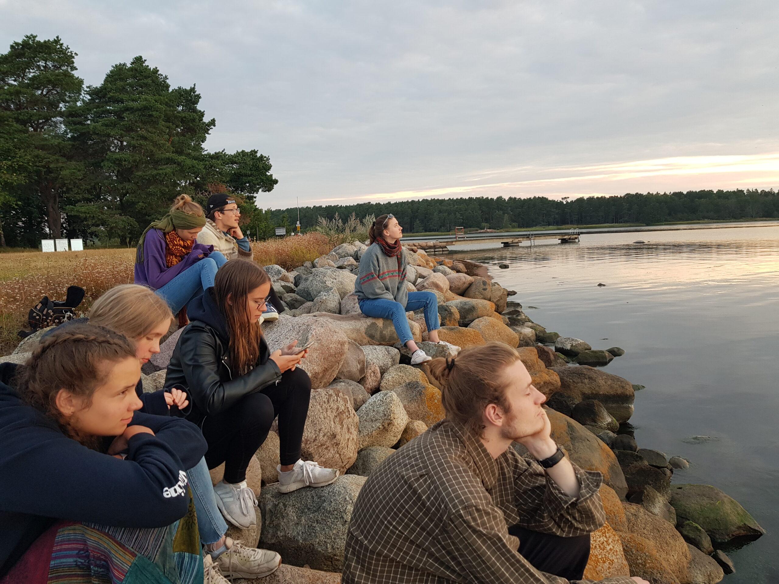 letzter Morgen in Schweden