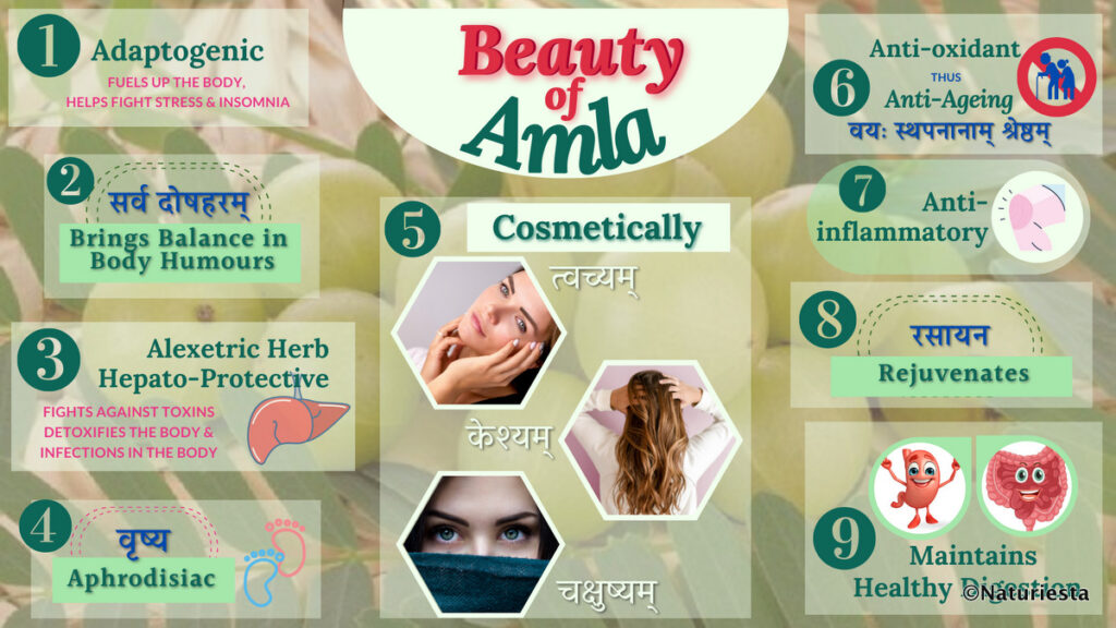 Beauty of Amla