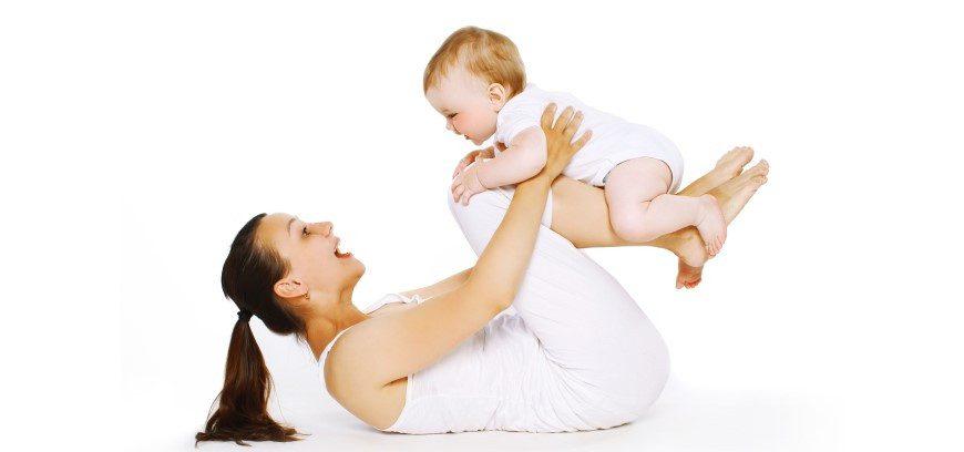 Ginnastica post-parto mamma-bambino