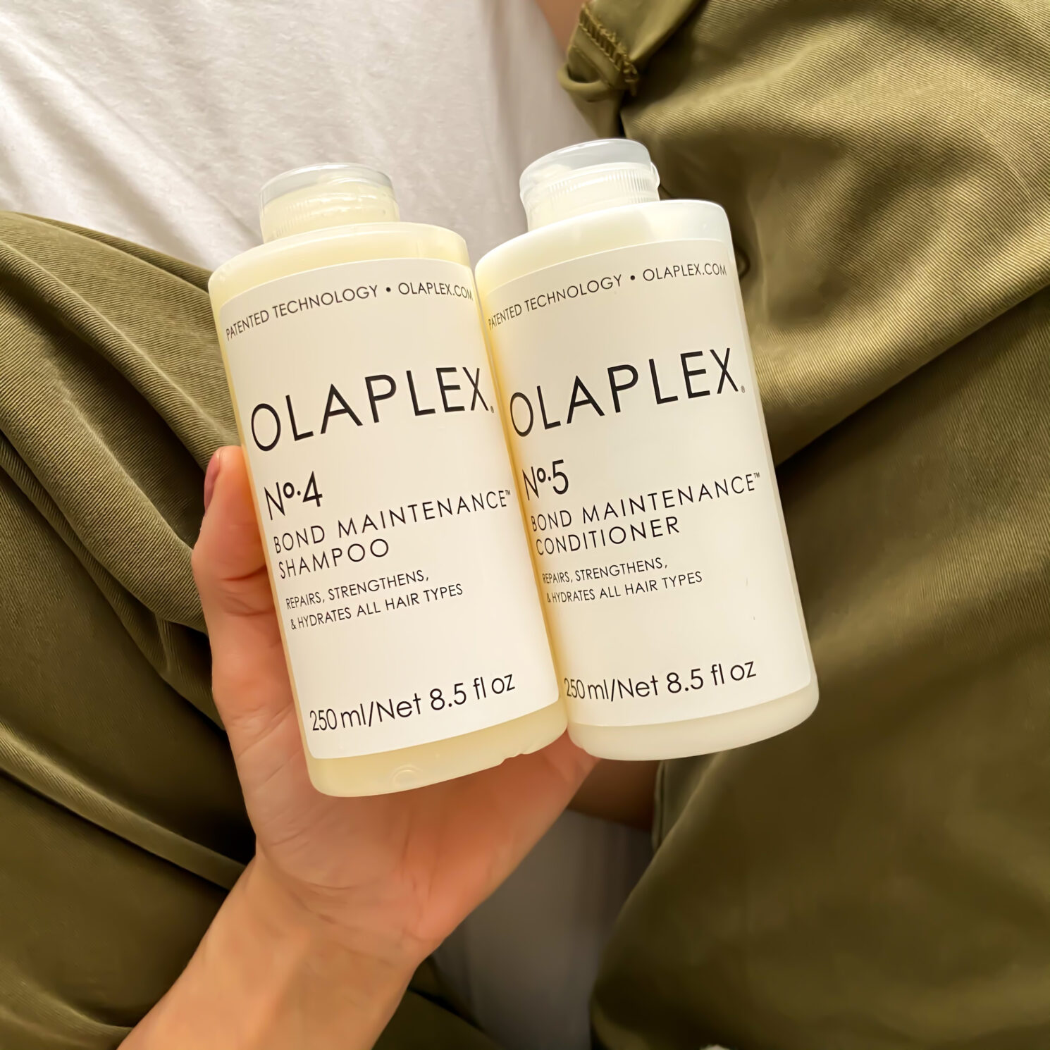olaplaex no 4 and no 5 - first impressions