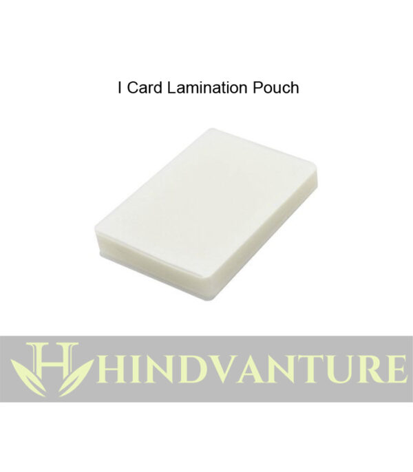 hindvanture i card laminating pouch