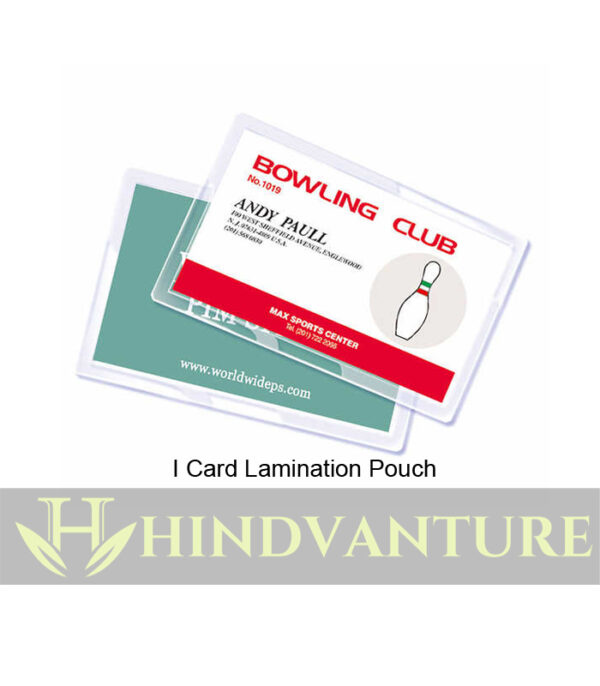 i card lamination pouch price