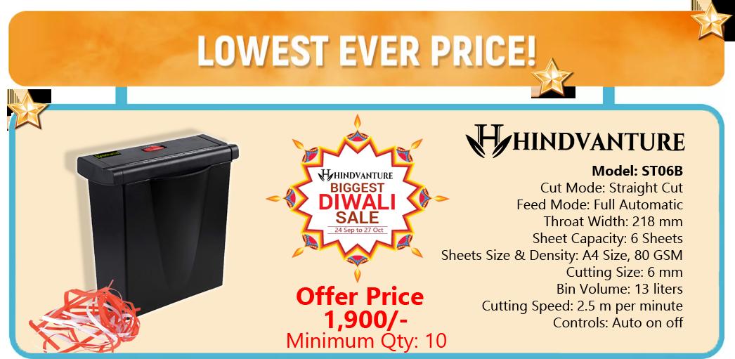 paper shredder machine diwali offer