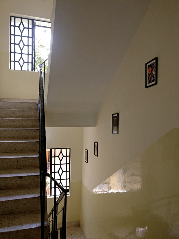 Our stairways are full of the covers of classic Bengali books