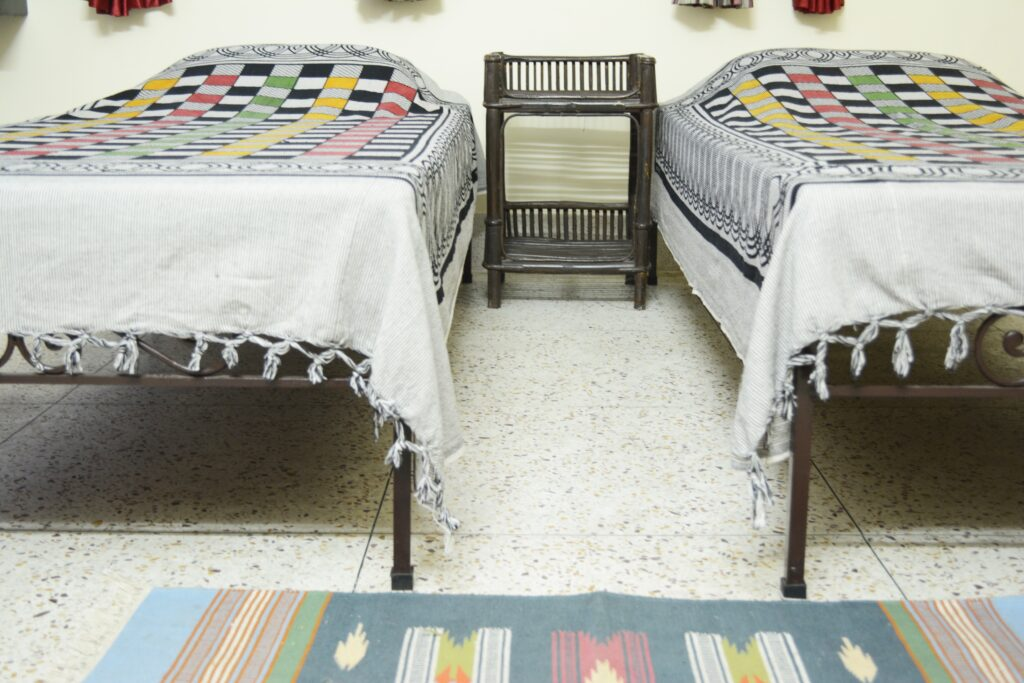We also offer twin bed