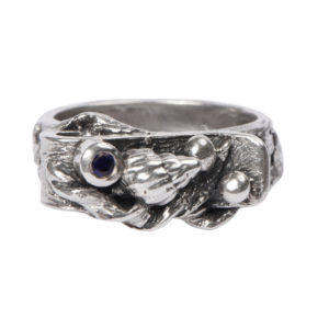 Totem Ring: With Amethyst & Sapphire