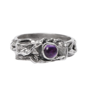 Totem Ring: With Amethyst
