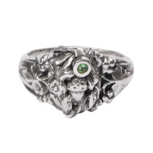 Bouquet Ring: Acorn And Tsavorite Garnet