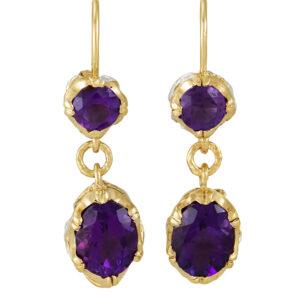 Bia Amethyst Earrings