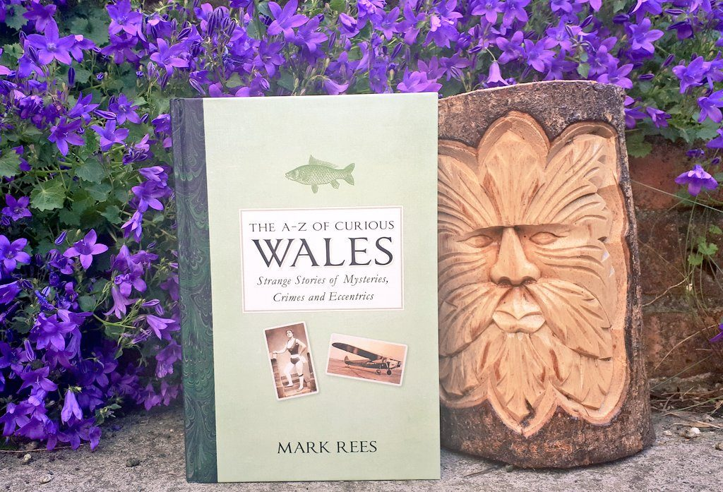 The A-Z of Curious Wales by Mark Rees, as announced on the newsletter